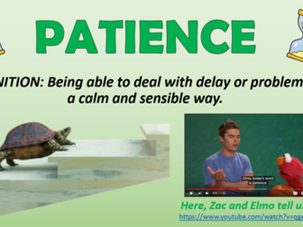 Patience Assembly!