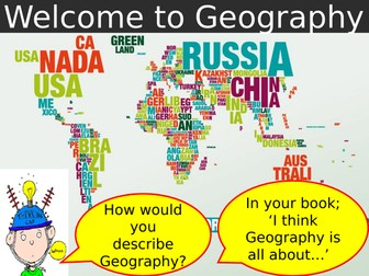 Map Skills and Introduction to Geography