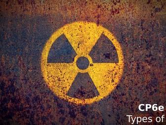 Edexcel CP6e Types of Radiation