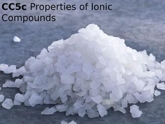 Edexcel CC5c Properties of Ionic Compounds