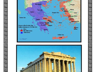 Ancient Greeks home learning pack