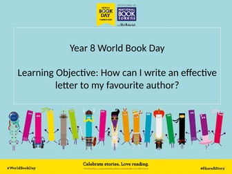 World Book Day Lessons