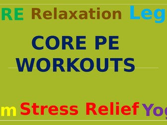 Physical Education @ Home Fitness & Challenges *2021*