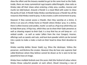 Hindu Assessment