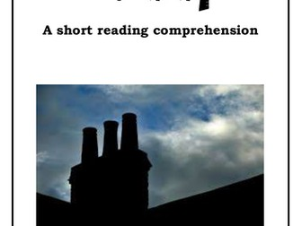 Year 5/6 Short Reading Comprehension - Sweep (chimney)