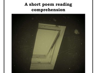 Year 5/6 Short Reading Comprehension - Bed (poetry)