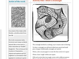 Art Home Learning Week Five