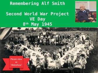 Home Learning VE DAY