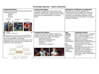 sport leadership