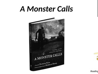 A Monster Calls Reading Booklet