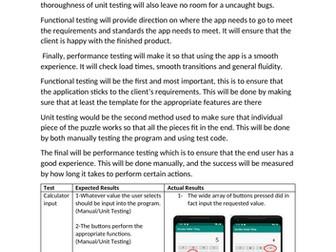 Software Testing Assignment 2: Test an App