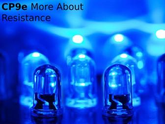 Edexcel CP9e More About Resistance