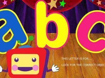The alphabet game!