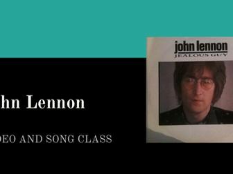 Video/song lesson! - 'Jealous Guy' by John Lennon