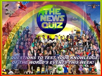 The News Quiz 28th September - 5th October 2020 Form Tutor Time Current Affairs