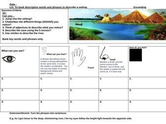Setting description- Egyptian Cinderella-River Nile