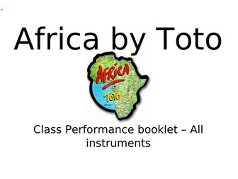 Africa by Toto Class Performance Eduqas GCSE Music