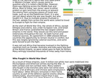 Victories, Patriotism & Discrimination: Diversity in WW1