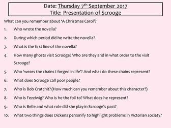 A Christmas Carol - Meeting Scrooge