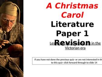 Christmas Carol Narrated Revision: Victorian Life