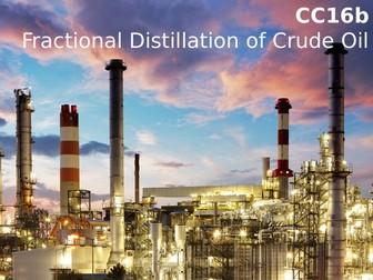 Edexcel CC16b Fractional Distillation of Crude Oil