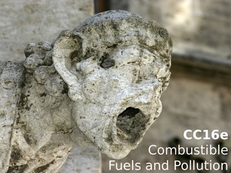 Edexcel CC16e Combustible Fuels and Pollution