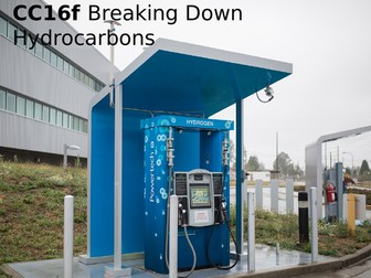 Edexcel CC16f Breaking Down Hydrocarbons