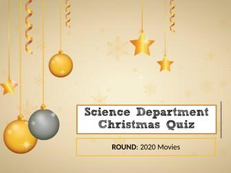 Science Christmas Quiz 2020