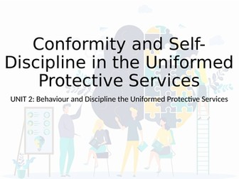 Level 3 RQF Uniformed Protective Services - Unit 2 Behavior & Discipline, Learning Outcome C