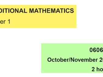 IGCSE-0606_November 2010_QP13_Solutions