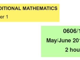 IGCSE-0606_June 2013_QP12_Solutions
