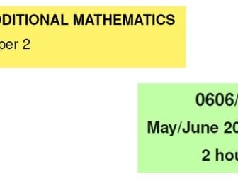 IGCSE-0606_June 2013_QP21_Solutions