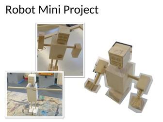 Robot, workshop induction mini project.