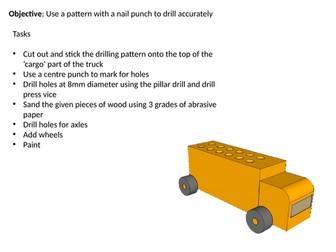 Truck pen holder fpt mini project