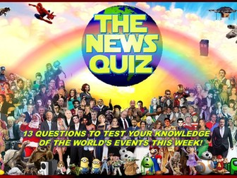 The News Quiz 1st - 8th February 2021 Form Tutor Time Current Affairs