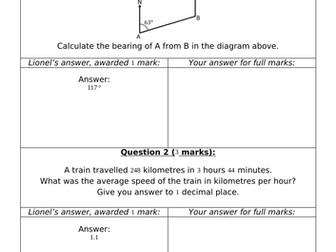 Lazy Lionel On Geometry 2