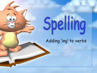 Adding 'ing' to verbs: Spelling rules