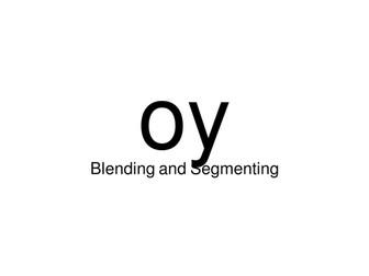segmenting and blending using 'oi' jollyphonics