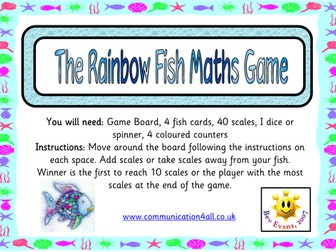 The Rainbow Fish Maths Game