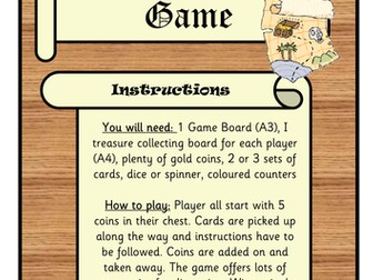 Treasure Hunt Board Game