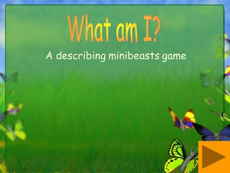 What am I? A Minibeast descriptions game for IWB