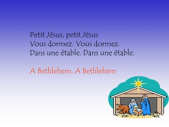 Petit Jesus   - simple French song