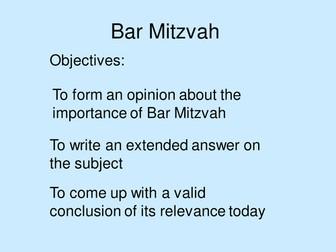Rites of Passage Bar Mitzvah