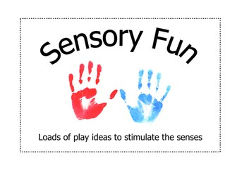 Sensory Play Activities/Ideas