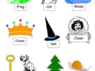 Matching rhyming words for mixed year 1/2 class- worksheets