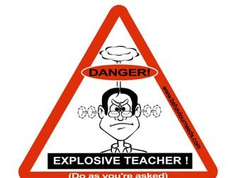 Classroom Management Behaviour Posters