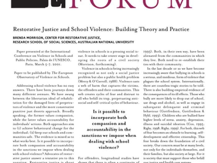 picture relating to Restorative Justice Printable Worksheets identify HOW In direction of COPE WITH Faculty CONFLICT Employing RESTORATIVE JUSTICE