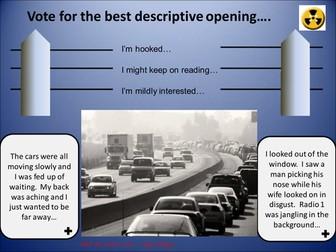 Descriptive Writing Lesson Presentations