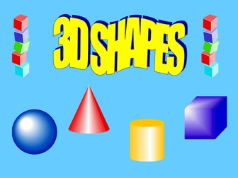 Introduction to 3D Shape Powerpoint