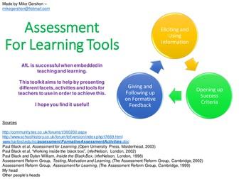 Assessment For Learning Toolkit